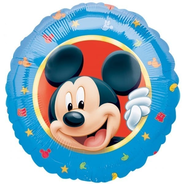 Balon folie portret Mickey Mouse